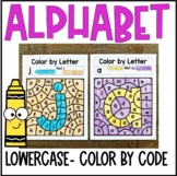 Color by Code- Lowercase Letters