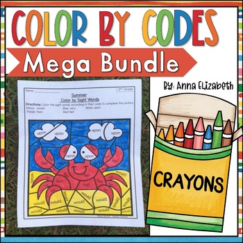 Color by Code MEGA BUNDLE