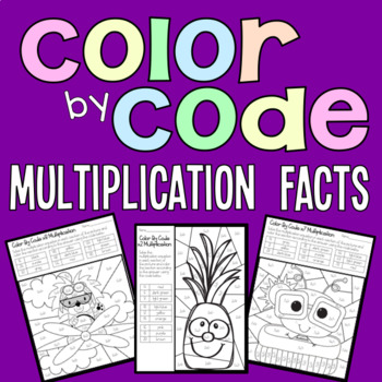 Color by Code Multiplication Facts