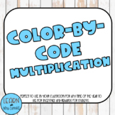 Color by Code- Multiplication Facts