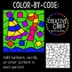 Color by Code: New Years Clipart {Creative Clips Clipart}