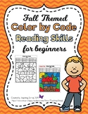 Phonics Color by Code for Fall