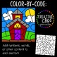 Color by Code: School Clipart {Creative Clips Clipart}