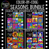 Color by Code: Seasons Bundle {Creative Clips Clipart}