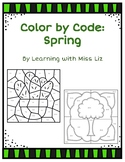 Color by Code: Spring