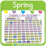 Color by Code: Spring Mystery Pictures