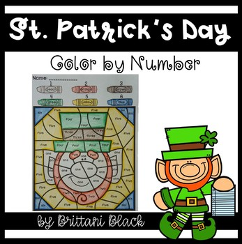 St. Patrick's Day~ Color by Code