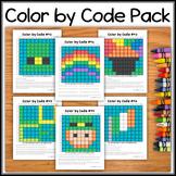 Color by Code – St. Patrick's Day Bundle – Hidden Picture #C41-46