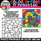 Color by Code St. Patrick's Day Clipart {Color by Code Clipart}