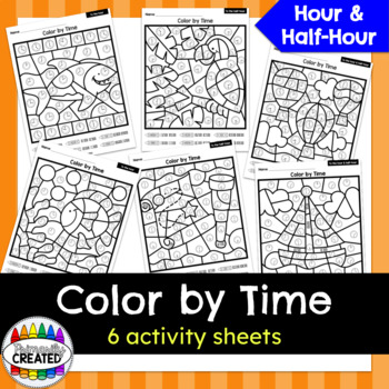 Color by Code - Telling Time