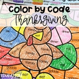 Color by Code: Thanksgiving