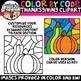 Color by Code Thanksgiving Clipart {Color by Code Clipart}