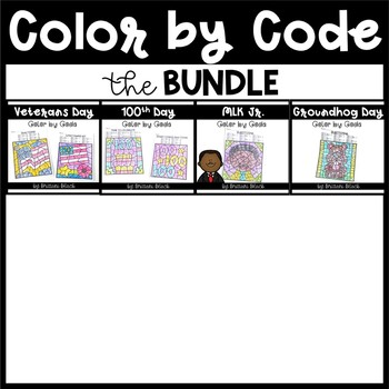 Color by Code~ The Bundle