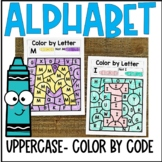 Color by Code Uppercase Letters