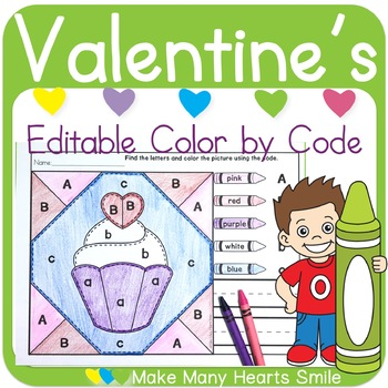Color by Code: Valentine's Quilt Pictures