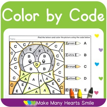 Color by Code: Winter Mystery Pictures