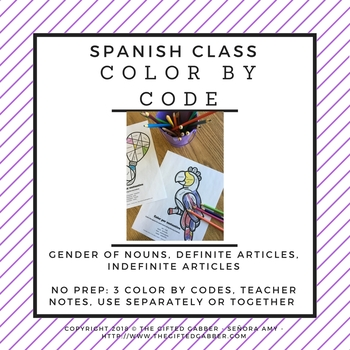 Spanish Gender Of Nouns Teaching Resources Teachers Pay Teachers