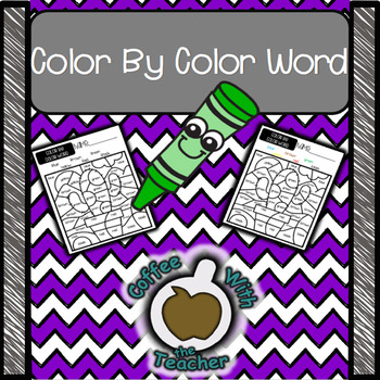 Color by Color Word
