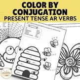 Color by Conjugation AR Verbs Present Tense