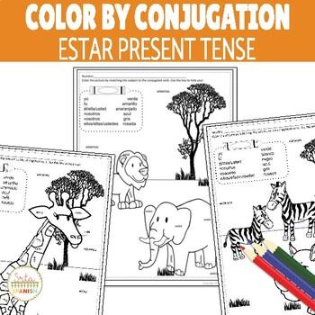 Color by Conjugation ESTAR Present Tense