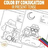 Color by Conjugation IR Present Tense