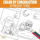 Color by Conjugation IR Present Tense