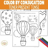 Color by Conjugation TENER Present Tense