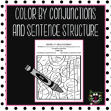 Distance Learning Color by Conjunctions and Sentence Structures