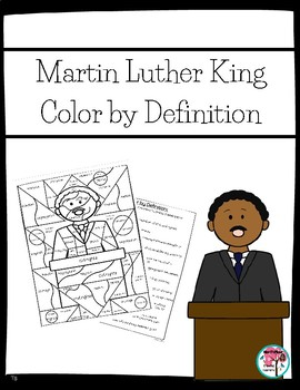 Color by Definition Martin Luther King