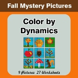 Color by Dynamics - Music Mystery Pictures - Autumn