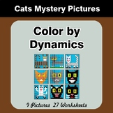 Color by Dynamics - Music Mystery Pictures - Cats