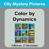 Color by Dynamics - Music Mystery Pictures - City
