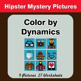 Color by Dynamics - Music Mystery Pictures - Hipsters