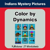 Color by Dynamics - Music Mystery Pictures - Native Americ