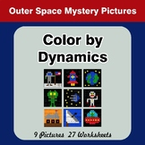 Color by Dynamics - Music Mystery Pictures - Outer Space