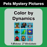 Color by Dynamics - Music Mystery Pictures - Pets