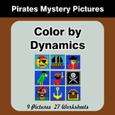 Color by Dynamics - Music Mystery Pictures - Pirates