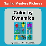 Color by Dynamics - Music Mystery Pictures - Spring