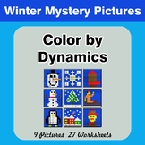 Color by Dynamics - Music Mystery Pictures - Winter