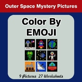Color by Emoji - Mystery Pictures - Outer Space
