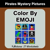 Color by Emoji - Mystery Pictures - Pirates