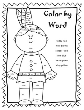 Color by HF Word