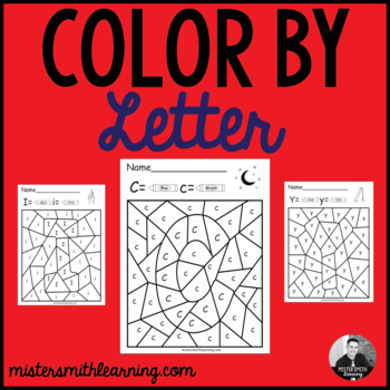 Color by Letter