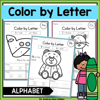 Color by Letter - Alphabet