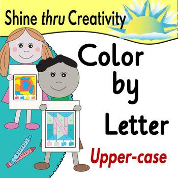 Color by Letter Alphabet