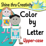 Color by Letter Alphabet