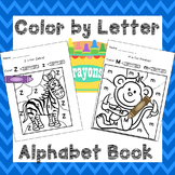 Color by Letter Alphabet Practice Alphabet Worksheets