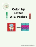 Color by Letter- Alphabet Packet