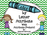 Color by Letter Attribute with Attribute Posters