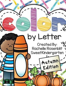 Color by Letter {Autumn Edition}